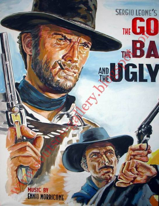 """The Good, The Bad And The Ugly""1966 (detail)"