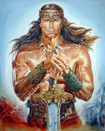 """Conan The Destroyer"" 1984"