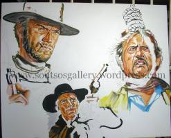 """The Good, The Bad And The Ugly""1966 (half-finished)"