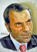 Original Painting-Portrait, plastic colors 50x70cm canvas