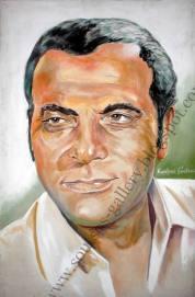 Original Painting Portrait, plastics-100x70cm canvas