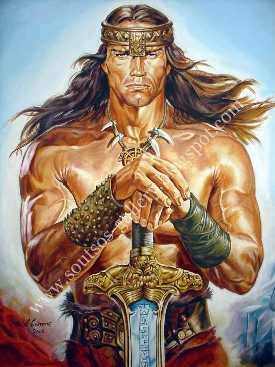 "Arnold Schwarzenegger, ""Conan The Destroyer"" 1984"