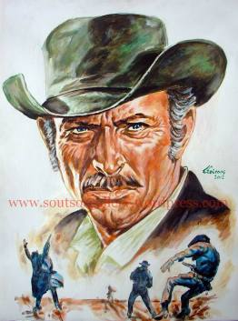 Lee Van Cleef - portrait (finished)