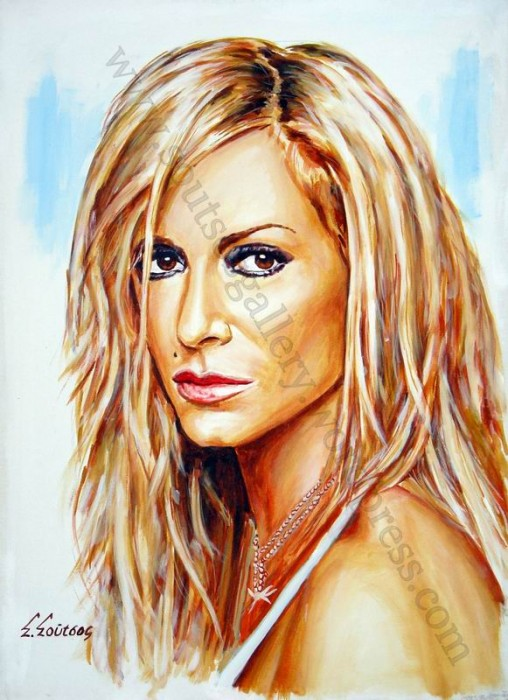 Anna Vissi portrait