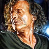 Vasilis Papakonstantinou / Βασίλης Παπακωνσταντίνου – πορτραίτο, αυθεντικός πίνακας ζωγραφικής, πλαστικά χρώματα 55Χ75εκ καμβάς