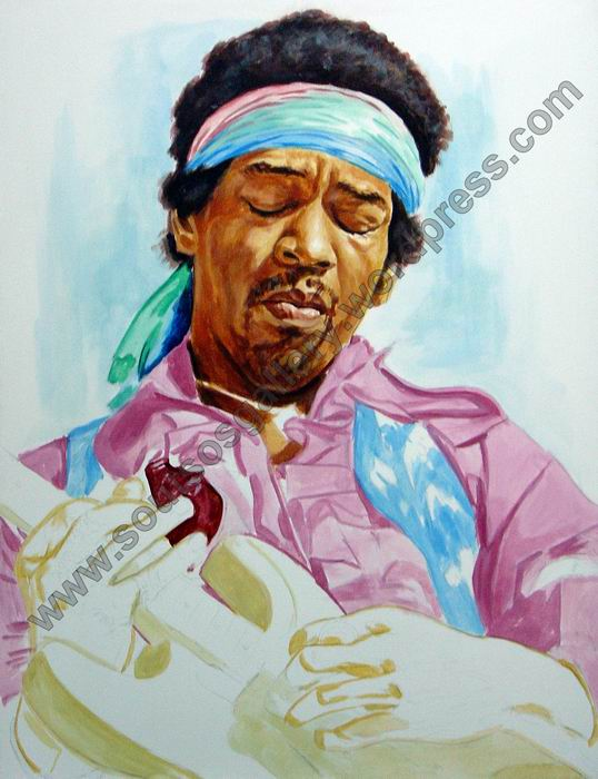 Jimi Hendrix (half-finished)