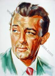 Robert Mitchum (half-finished)